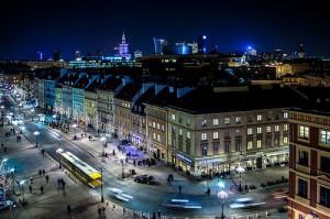 Warszawa-noca
